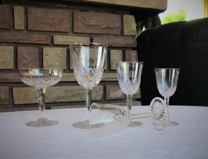 Verres baccarat epron service ancien cristal