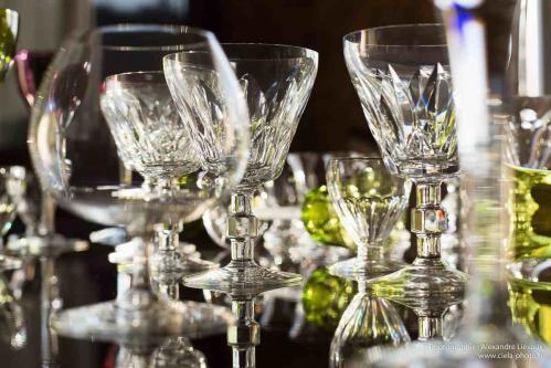 verres cristal baccarat st louis
