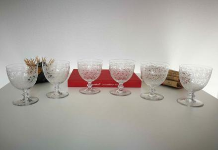 Verres cristal de baccarat rohan occasion