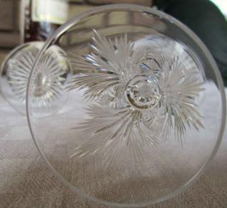 Verres liqueur ancien cristal