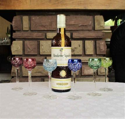 Verres liqueur saint louis couleur