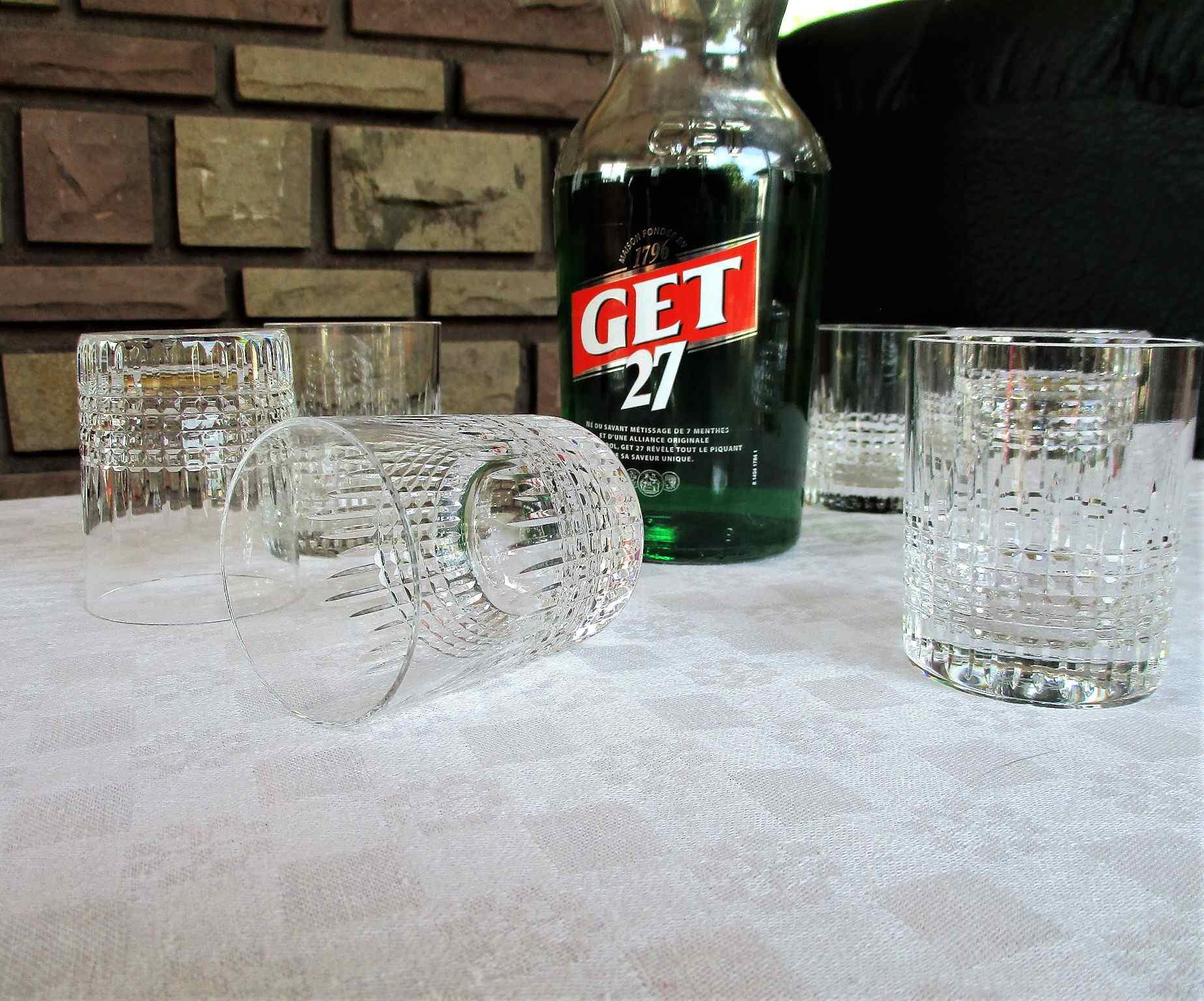 Verres / Gobelets Nancy, cristal de Baccarat