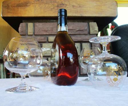 Verres perfection cognac n dores rocailles