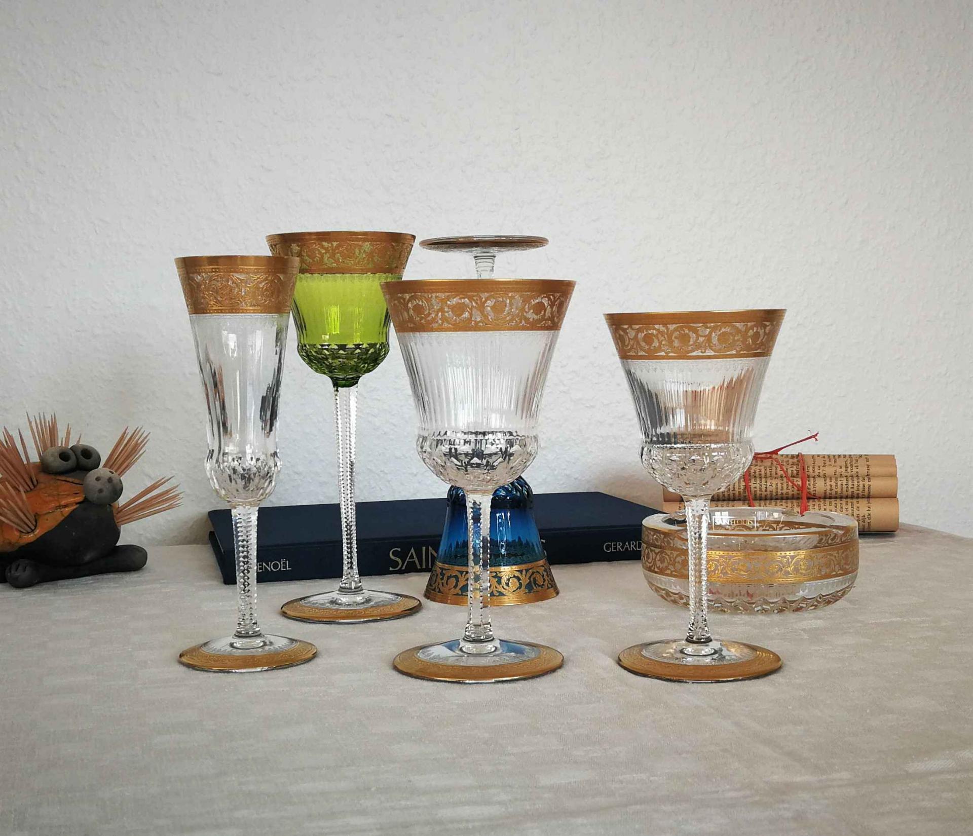 Collection Thistle, cristal Saint Louis