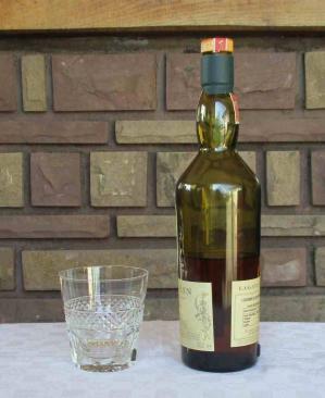 Whisky cristal service verres