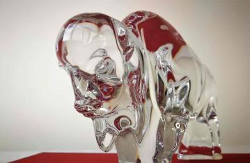 Animal en cristal baccarat