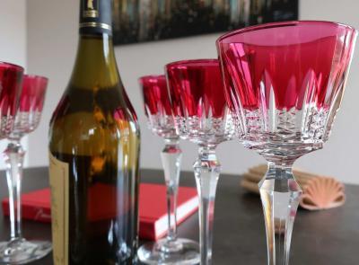Art de la table cristal baccarat couleurs