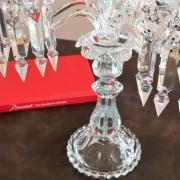 Baccarat bambous et medaillons cristal