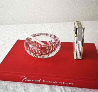 Baccarat cendrier en cristal