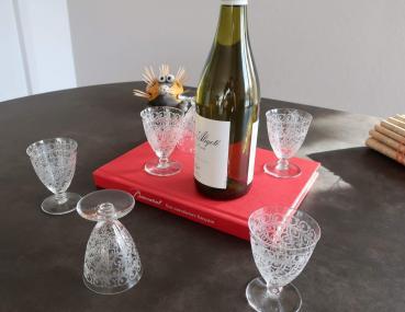 Baccarat chateaubriant verre vin cristal