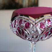 Baccarat cristal coupe champagne couleur