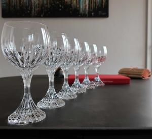 Baccarat cristal massena prix verre occasion