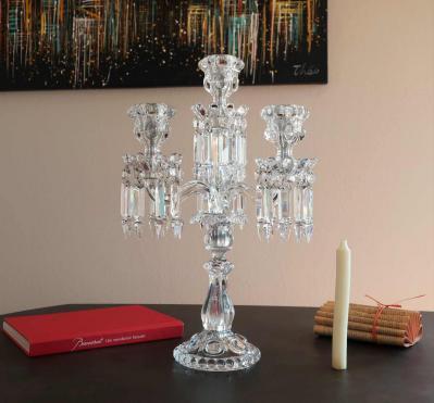 Baccarat cristal occasion prix candelabre
