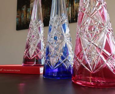 Baccarat crystal lagny france tableware old