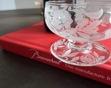 Baccarat fontenay roses cristal coupe