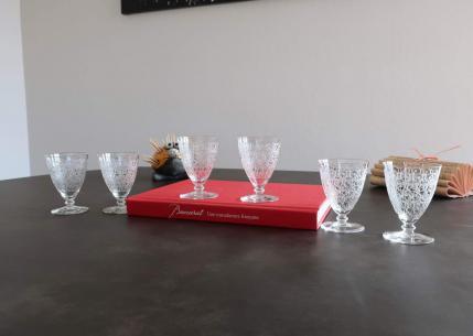 Baccarat glas old crystal