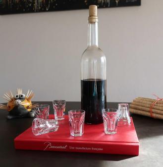 Baccarat harcourt gobelets cristal