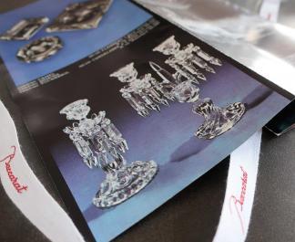 Baccarat publicite cristal