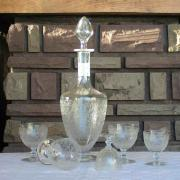 baccarat rohan verres cristal