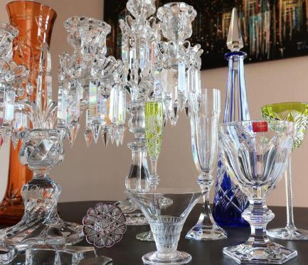 Baccarat saint louis daum lalique cristal