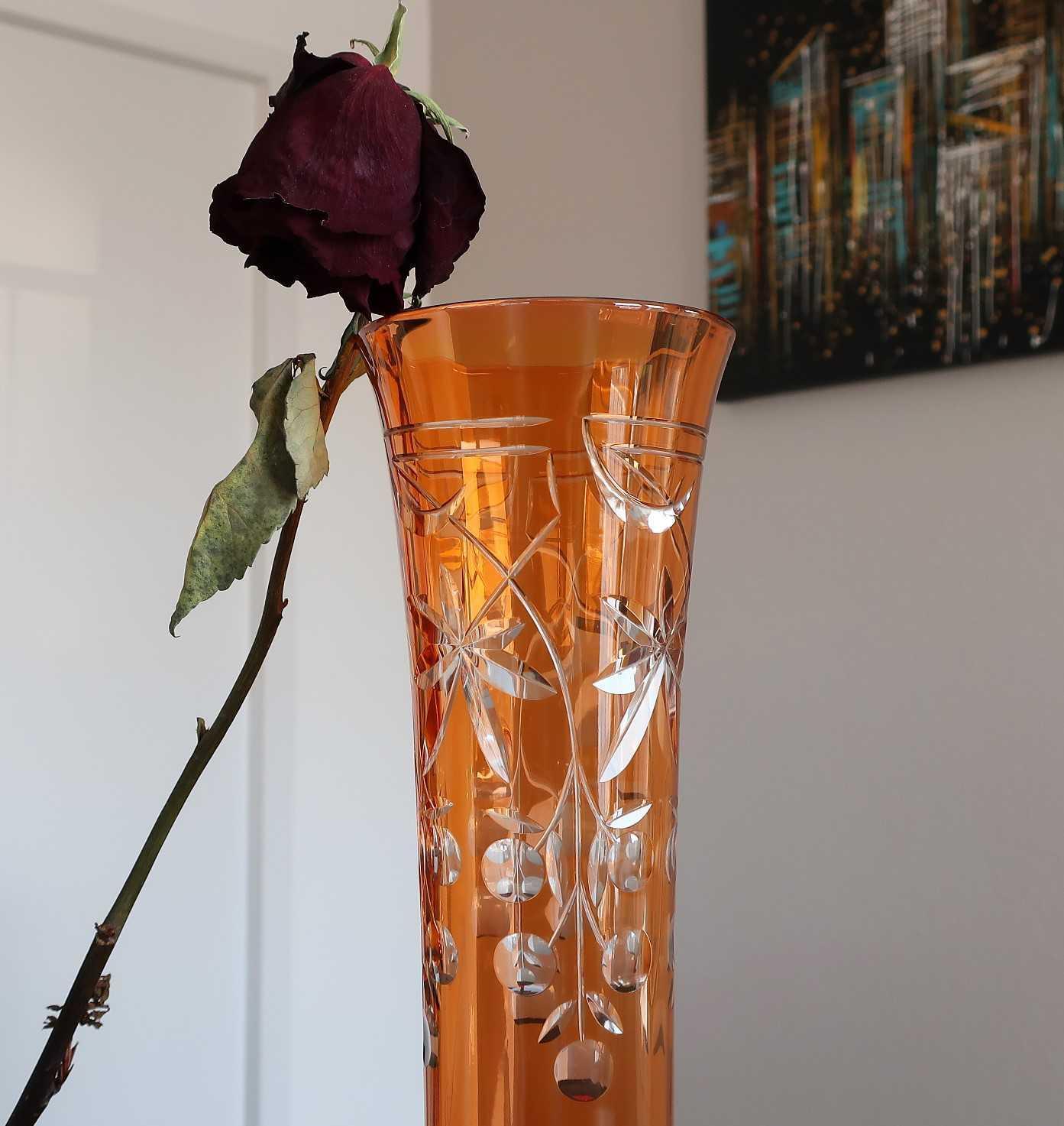 Vase Overlay cristal Baccarat