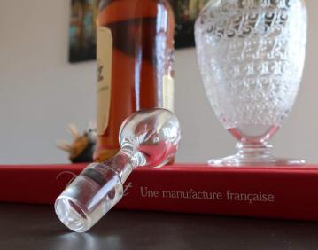 Bouchon cristal baccarat 1