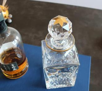 Bouchon cristal saint louis carafe 1