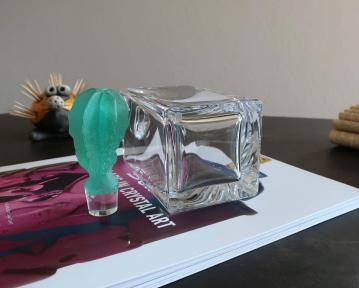 Bouchon pate de verre cristal carafe