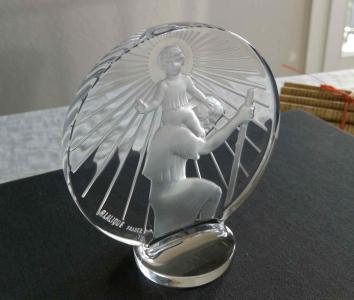 Bouchon radiateur lalique