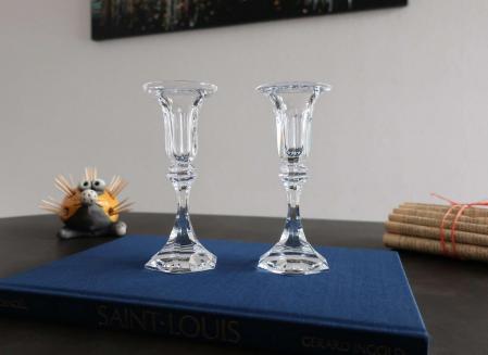 Bougeoirs cristal saint louis