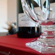 Bourbon cristal baccarat coupe