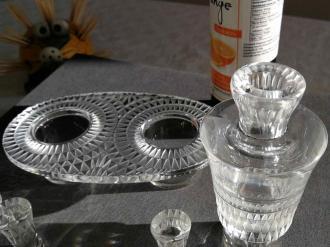 Bourgueil huilier vinaigrier lalique