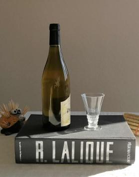 Bourgueil lalique verre a vin