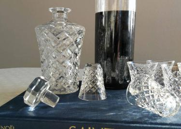 Carafe liqueur cristal saint louis