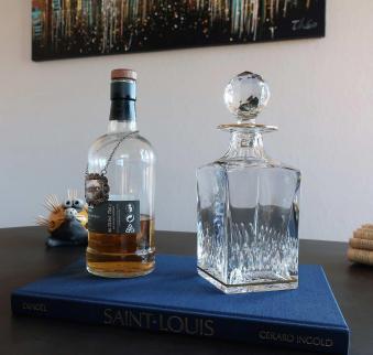 Carafe whisky saint louis flacon