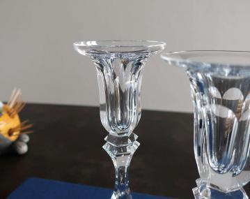 Chambord cristal saint louis bougeoir