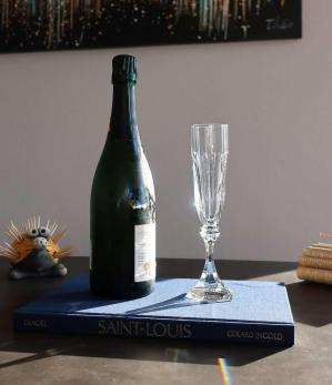 Chambord flutes cristal saint louis