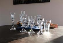 Chambord service verres saint louis cristal