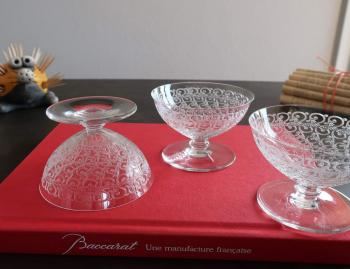 Chateaubriant cristal baccarat art deco