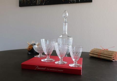 Chateaubriant cristal baccarat service de verres
