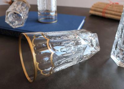 Chope verre orangeade biere cristal