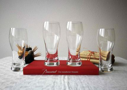 Chopes baccarat cristal degustation