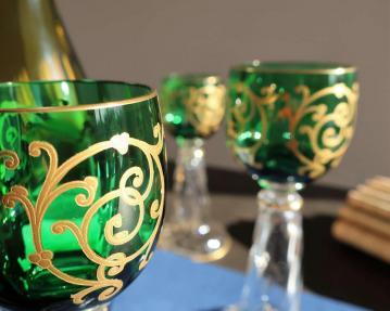 Cluny or saint louis cristal verre