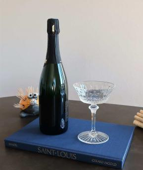 Coupe a champagne saint louis tomm occasion