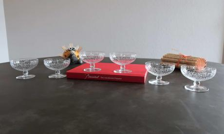 Coupe champagne baccarat art deco golfe juan
