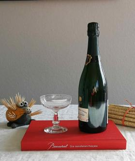 Coupe champagne baccarat