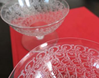 Coupe en cristal baccarat rohan chateaubriant