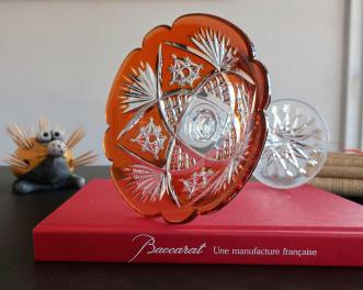Coupe fantaisie cristal taille baccarat