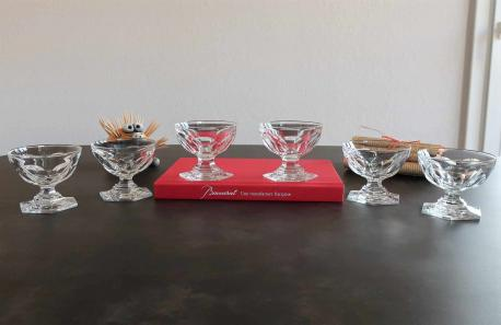 Coupes a champagne baccarat cristal