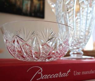 Cristal baccarat conde rince doigts